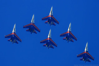 Su-27 Russkie Vityazi (Russian Knights)