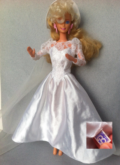 ID help needed - Barbie wedding gown