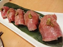 Wagyu Beef Sushi @King^Taishi, Xianxia Road, Shang…