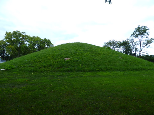 Photo Diary The Shrum Indian Burial Mound In Columbus Oh