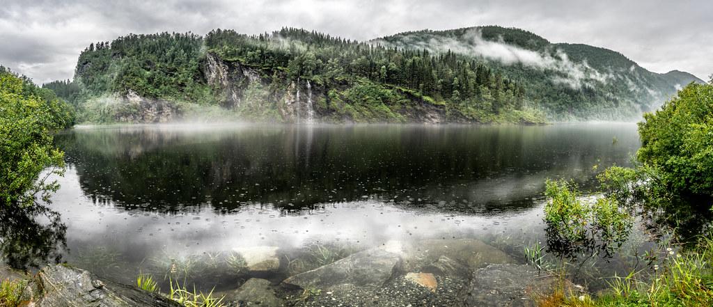Myrkdalsvatnet, Myrkdalen, Norway picture