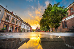 Sunset Reflections | Kaunas Old Town #245/365