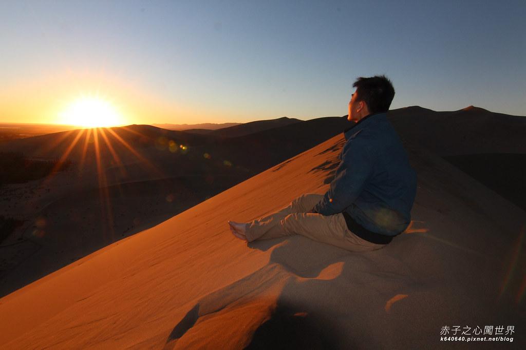 絲路-敦煌鳴沙山月牙泉-沙漠露營38