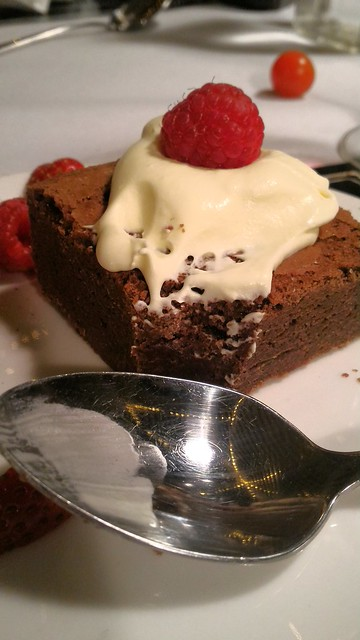 Chilli ginger brownies.