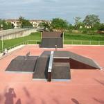 Marostica, Vicenza, Parco Skate, Italy
