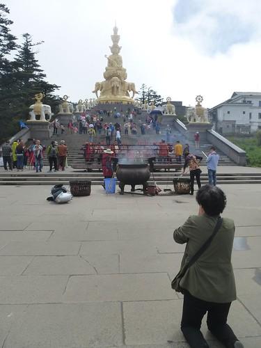 CH-Emeishan-jr2-Sommet d'or-Samantabhadra (2)