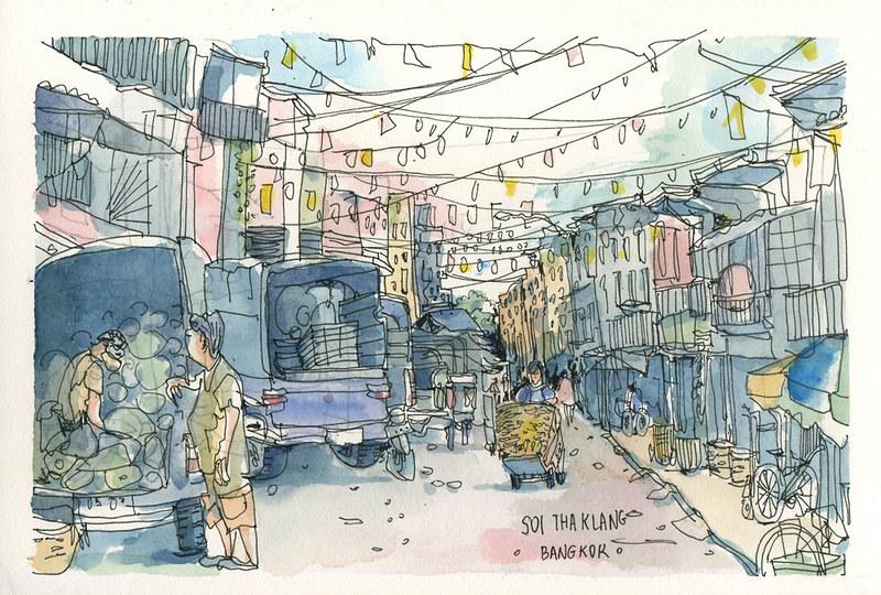 Soi Tha klang Street