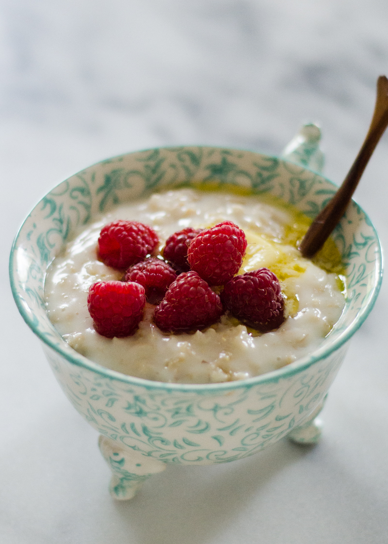 Overnight Soaked Oatmeal