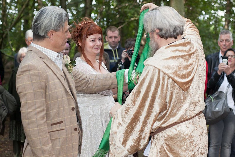 Woodland wedding blessing