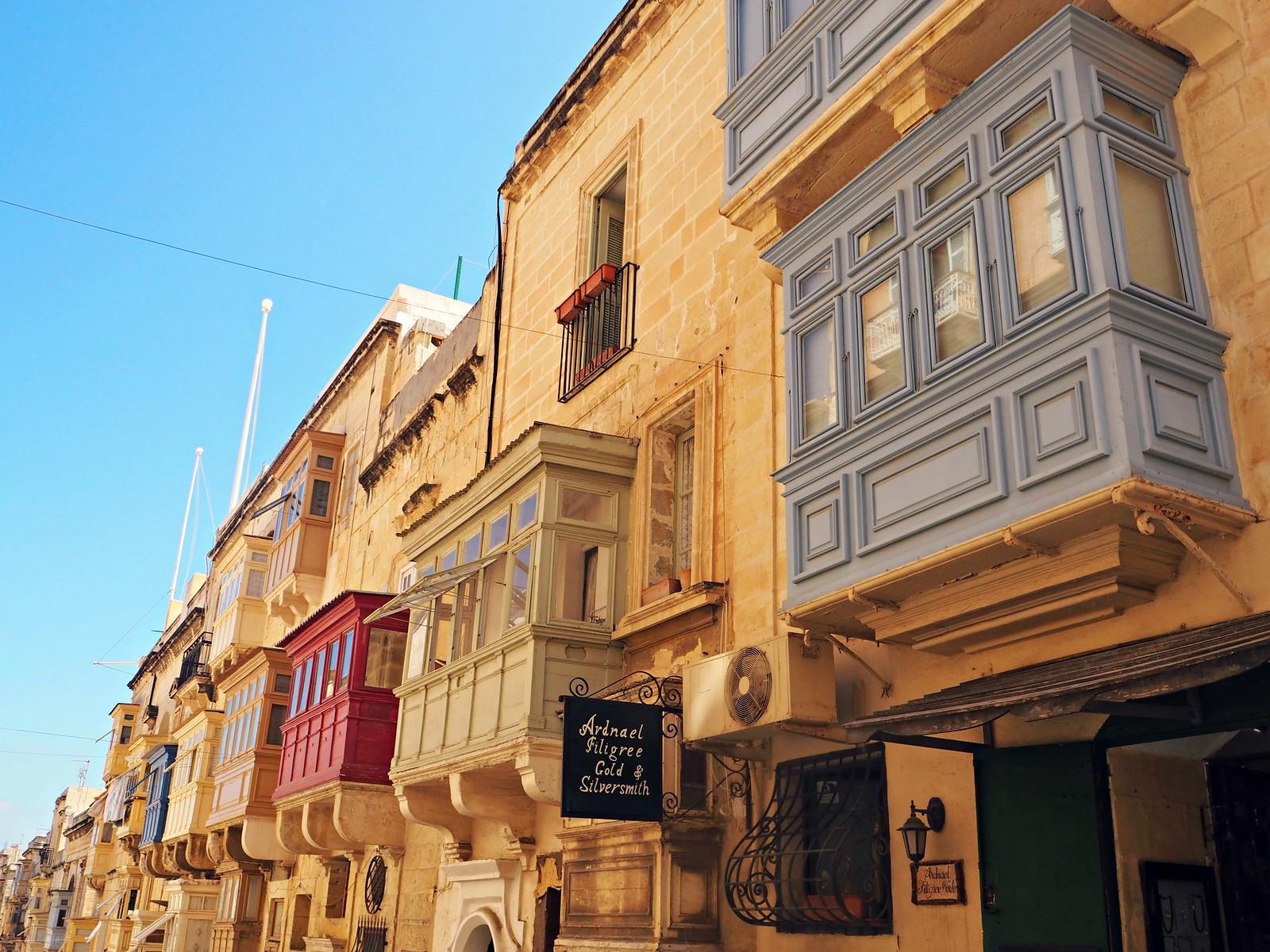 Valletta street view