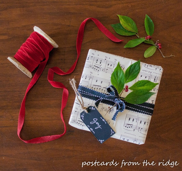Gift Wrap - Postcards from the Ridge