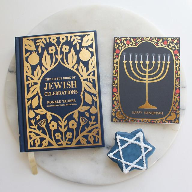 hanukkah still life