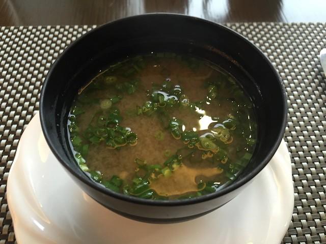 Miso soup - Millennium Seoul Hilton