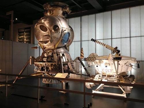 LK-3 lunar lander and Lunokhod rover