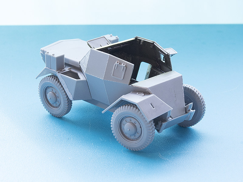 Projet Normandy : Dingo MK.III // Miniart // 1/35 22861252517_1a6659962f_c