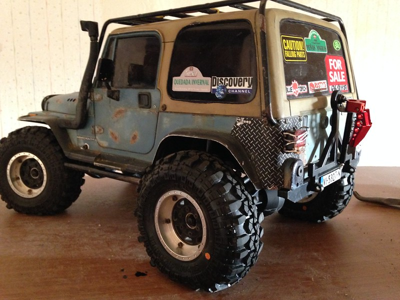 Jeep Wrangler YJ RcModelex 23023152361_1203bb30cf_c