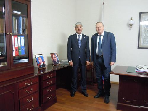 Встреча с Генконсулом Республики Казахстан в Санкт-Петербурге