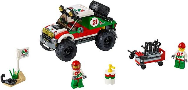 LEGO City 2016: 60115 - 4 x 4 Off Roader