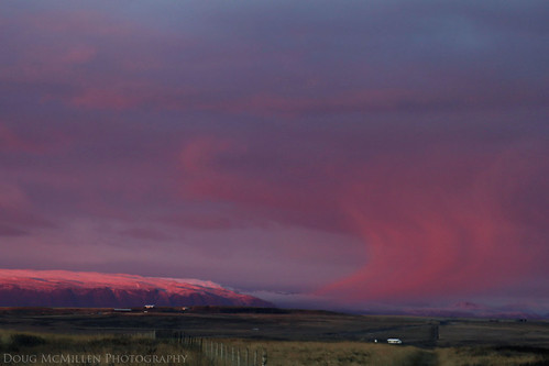 clouds sunrise iceland purple november2015