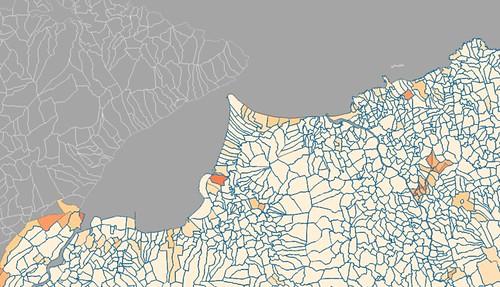 Coastal Townlands, Cos. Derry & Antrim