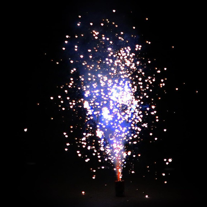 New Year's Eve fireworks! #sparkly