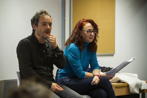 Santi Balmes y Patricia Godes_curso comunicación musical UJI