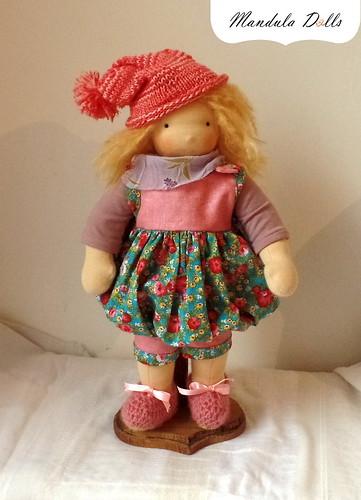 Leann waldorf style doll