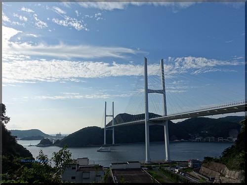 Photo:2015-09-06_T@ka.'s Life Log Book_女神大橋でフォトウォーク 海と橋と太陽と【長崎】_13 By:logtaka