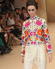We love our signature flower jacket