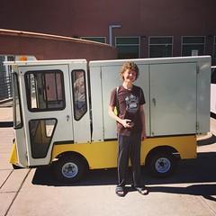 Tiny truck 285/365 #tinytruck #tiny #truck #denver #colorado #project365 #365