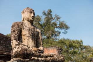 Obraz Vatadage. polonnaruwa srilanka northcentralprovince