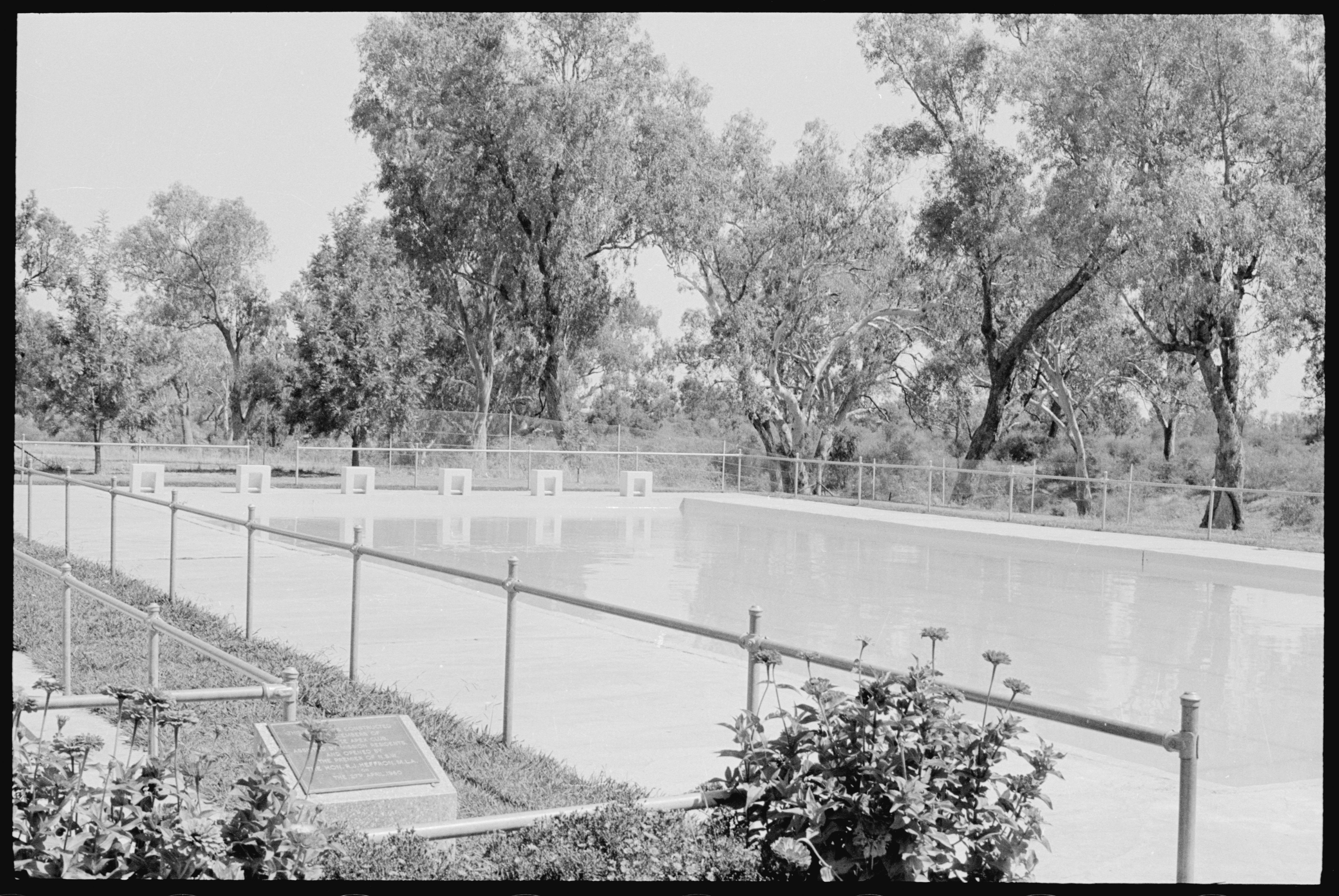 Swimming pool at Moree Aboriginal Station, February 1965 / The Tribune