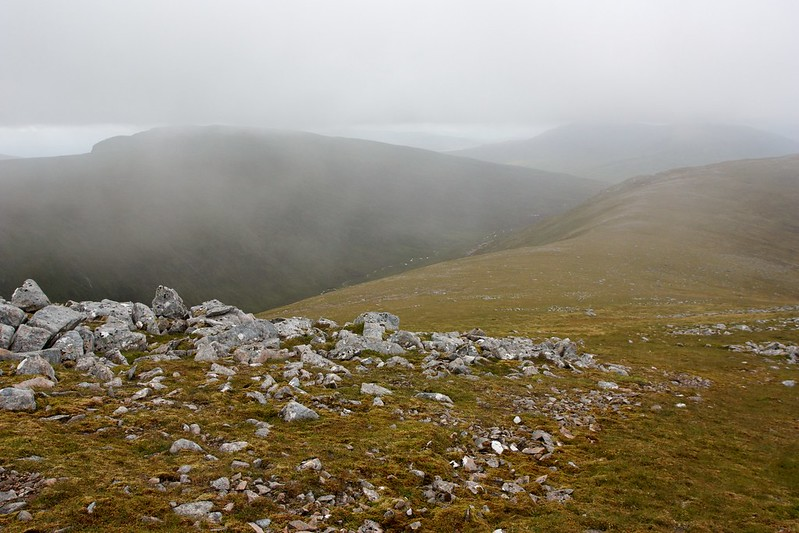 Mist over Beinn na Lap