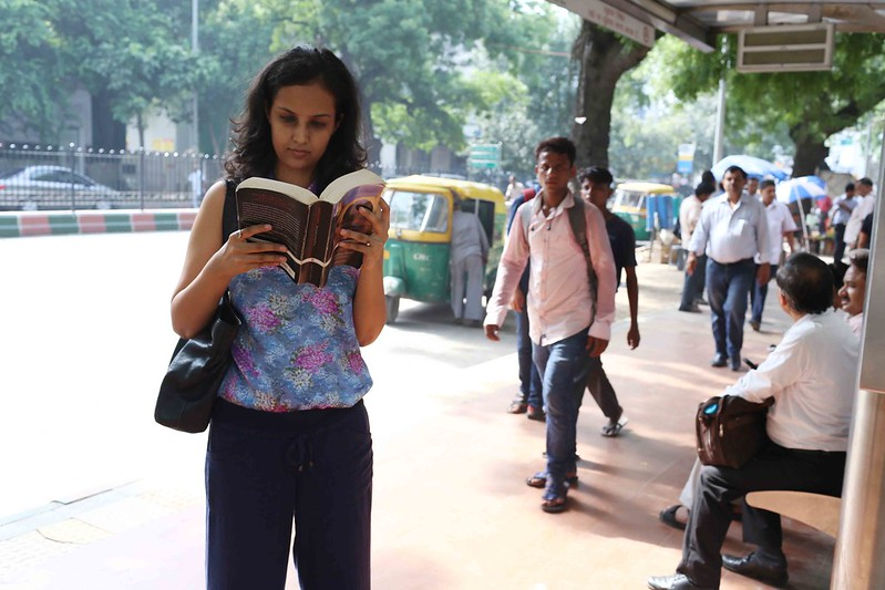 City Life - Reading Rebecca West, Delhi Metro & KG Marg
