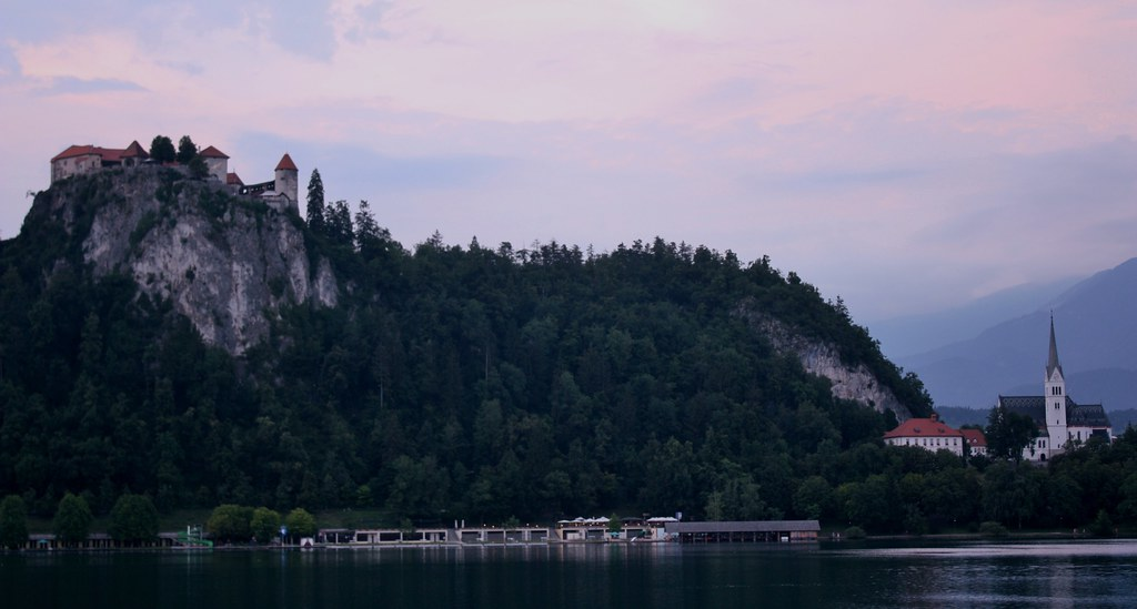 Lake Bled Castle and Church