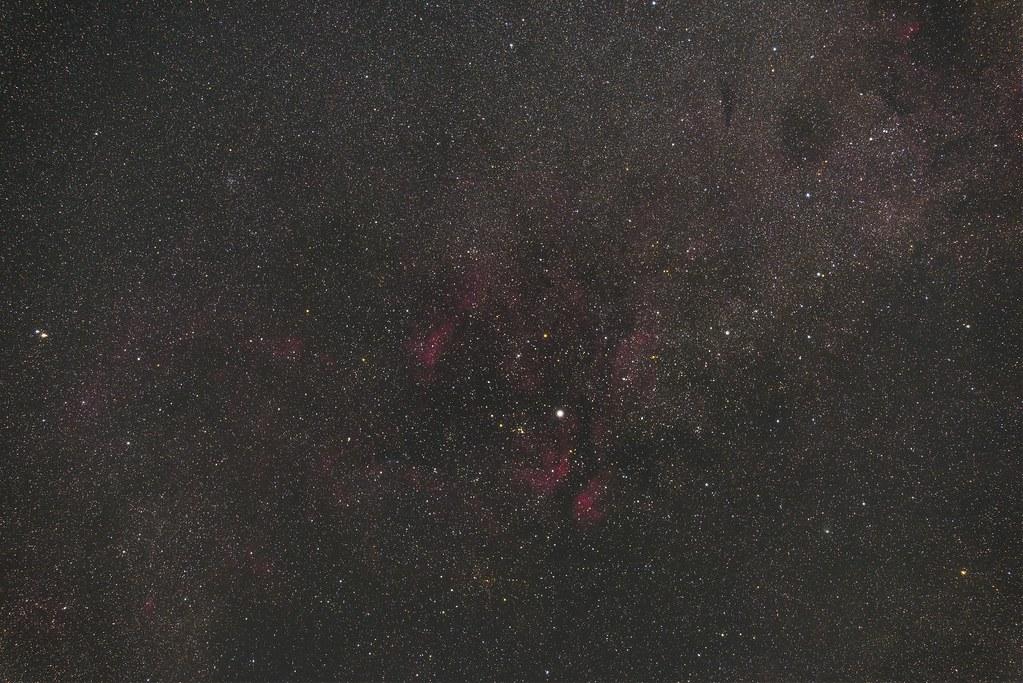 2015.08.15 Cygnus Sadr, IC1318 - はくちょう座 サドルと散光星雲