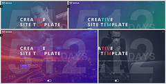 MEGA - Creative Coming Soon Template (Under Construction)