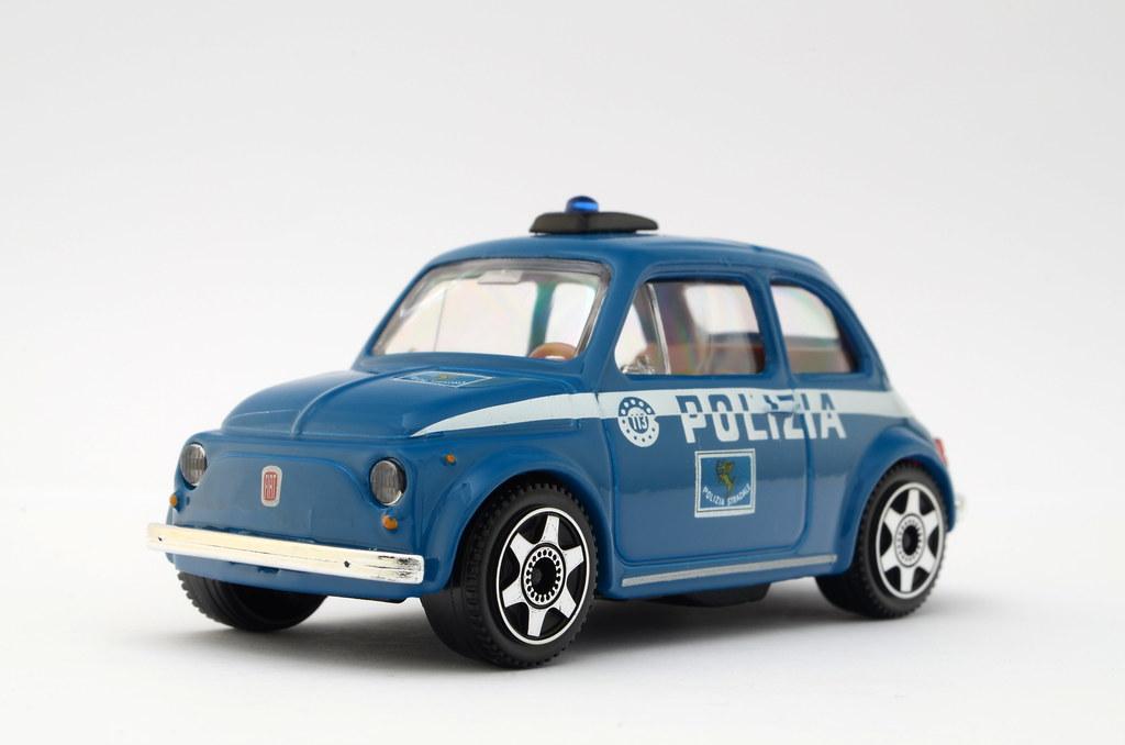 Fiat 500 Polizia Nighteye Flickr