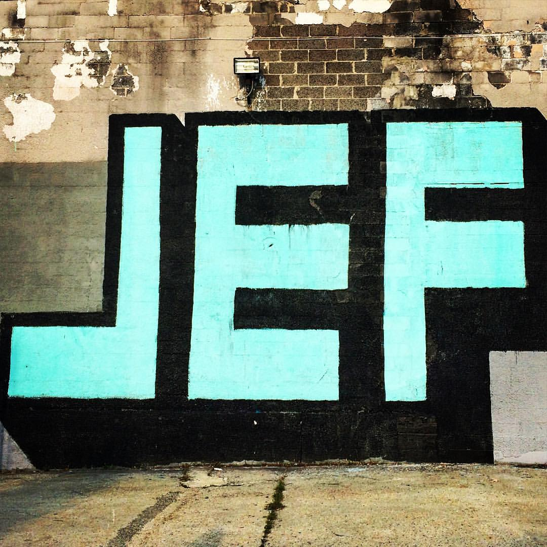 me again #NYC #brooklyn #greenpoint #graffiti #onefjef