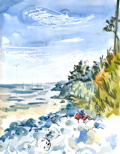 Sketchbook #92: Ocean Beach