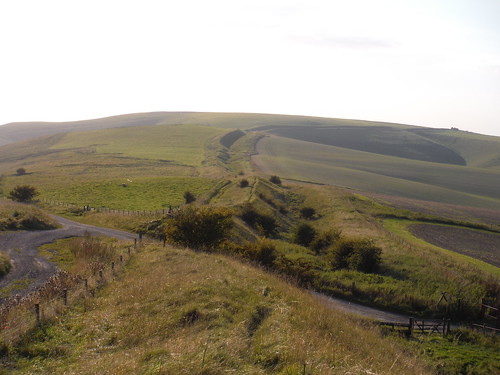 Wansdyke stretching away to the West