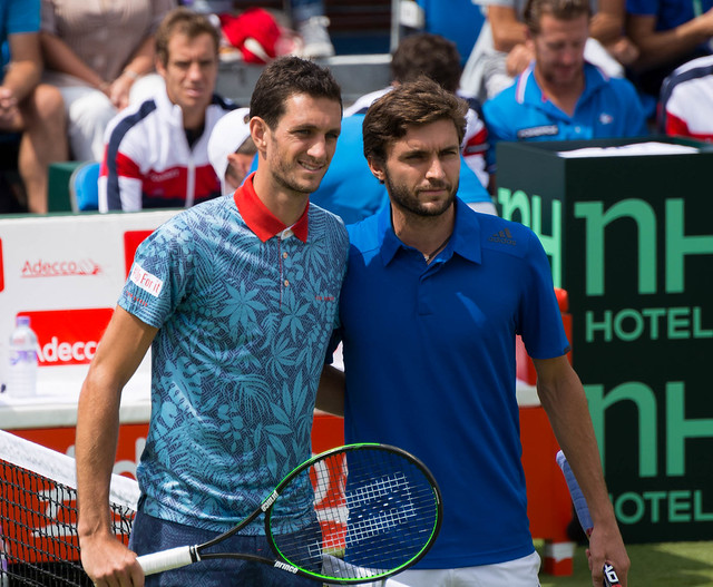 James Ward and Gilles Simon