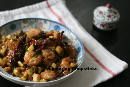 Chinese Kung Pao Shrimp 13