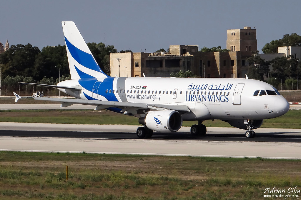 Libyan Wings --- Airbus A319 --- 5A-WLA