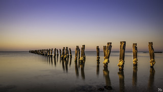 Clifton Springs Pier During the Golden Hour