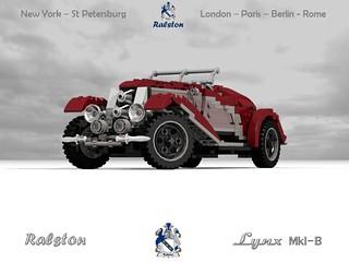 Ralston Lynx MkI-B Boat-tail Speedster - 1929