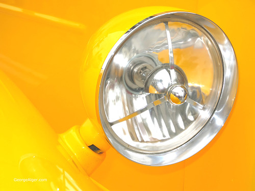 Yellow Headlight, by George Alger