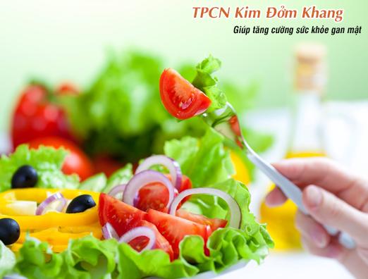 Sau cắt túi mật bạn nên tăng cường ăn rau xanh và chất xơ