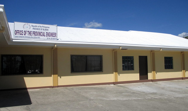 The Biliran Office of the Provincial Engineer has since been rehabilitated with support from RAY DILG - July 2015