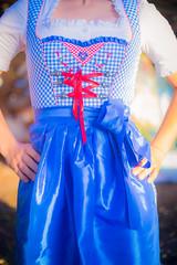 Kleid zum Oktoberfest
